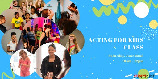 Acting for Kids Acting Class in Jacksonville (No Experience Needed!)
