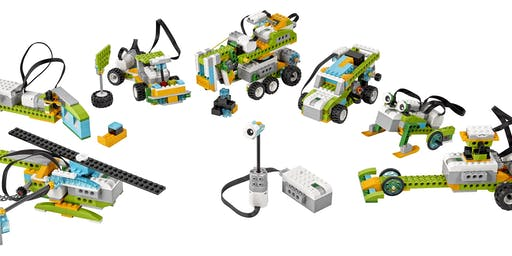 Construct And Code With Robotic Lego - Ages 5 plus