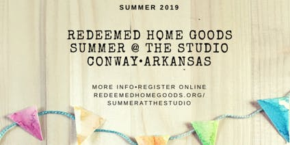 RHG Summer @ the Studio: Crafternoon I...ages 6-10