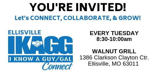 Ellisville IKAGG CONNECT Weekly Meeting