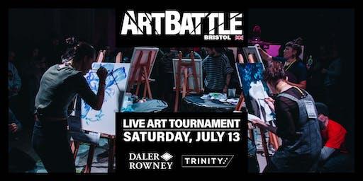 Art Battle Bristol - 13 July, 2019