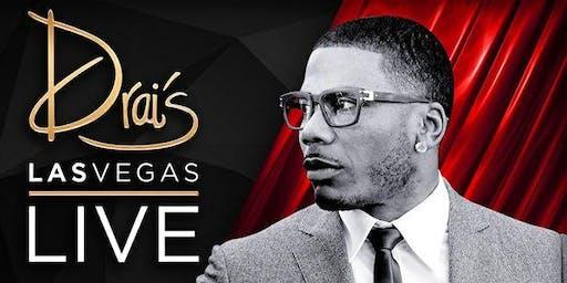 Nelly Live-拉斯维加斯宾客名单-Drais夜总会6/27
