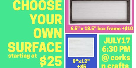 Choose Your Own Chalk Couture Surface tickets