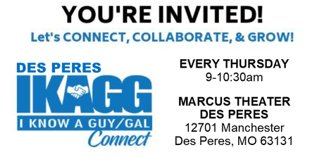 Des Peres IKAGG CONNECT Weekly Meeting tickets