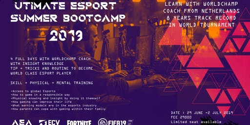 ULTIMATE ESPORTS SUMMER BOOTCAMP 2019