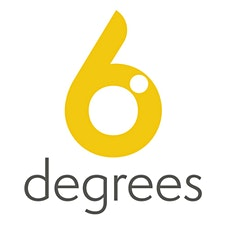 6 degrees logo