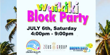 Brown Bags to Stardom Waikiki Block Party tickets
