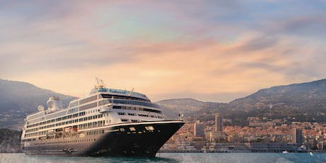 Explore Further with Azamara Cruises - 6pm, Tuesday 25th June - Naval, Military & Airforce Club tickets