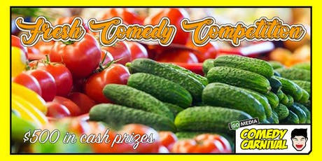 Fresh Comedy Competition tickets