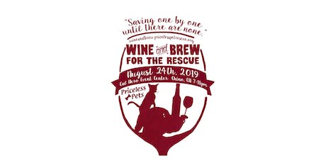 Priceless Pets' Wine and Brew for the Rescue tickets