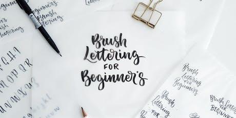 Beginner's Brush Lettering: Wotso, Sunshine Coast tickets