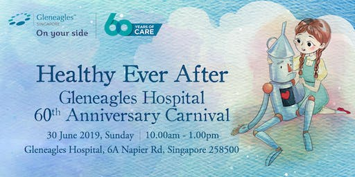 Healthy Ever After: GEH 60th Anniversary Carnival (For Staff)