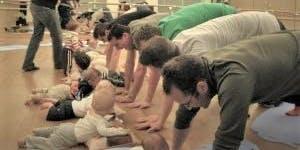 Daddy & Baby Yoga Class, Massage & Essential Oils