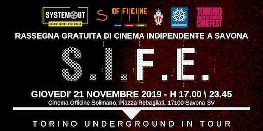 Torino Underground in Tour. Rassegna Gratuita di Cinema Indie a Savona