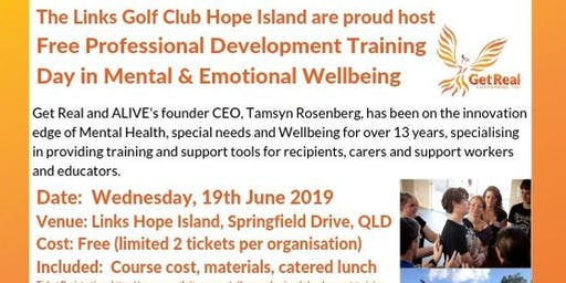 Free Professional Development Training Day in Mental & Emotional Wellbeing