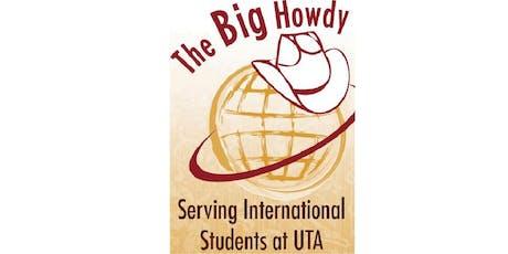 Tour Around Arlington/DFW for UTA International Students Fall 2019 tickets