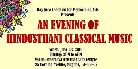 An Evening of Hindusthani Classical Music tickets