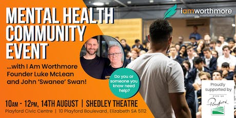 Free Mental Health Community Event: Opening The Conversation tickets