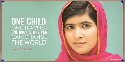 Malala Day Celebration: Finding Your Voice Through Art with Goodwill