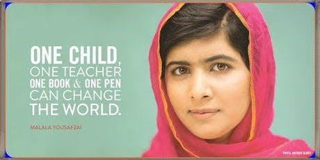 Malala Day Celebration: Finding Your Voice Through Art with Goodwill tickets