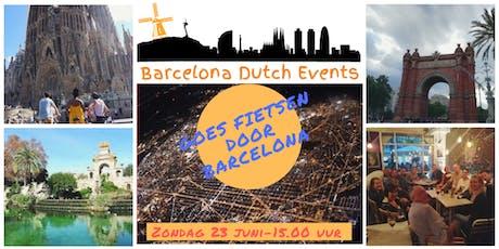 Barcelona Dutch Events Goes Fietsen door Barcelona entradas