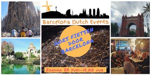 Barcelona Dutch Events Goes Fietsen door Barcelona