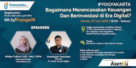 Finansialku Roadshow Yogyakarta, 27 Juni 2019 (Berbayar) tickets