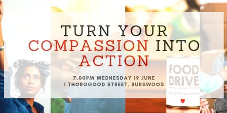 Turn Compassion Into Action tickets