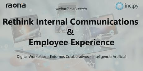 Rethink Internal Communications & Employee Experience - Madrid entradas