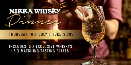 NIKKA: A whisky dinner at The Boundary Hotel tickets