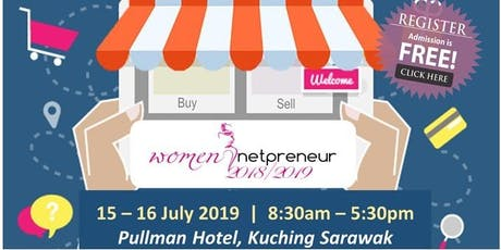 Women Netpreneur eCommerce Adoption Session (Kuching): July 2019 tickets