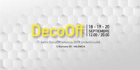 DecoOffValencia 2019 UnderGround entradas