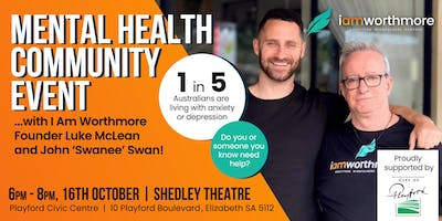 Free Mental Health Community Event: Opening The Conversation 16/10