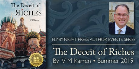 An Afternoon with V M Karren, Book Talk & Signing tickets