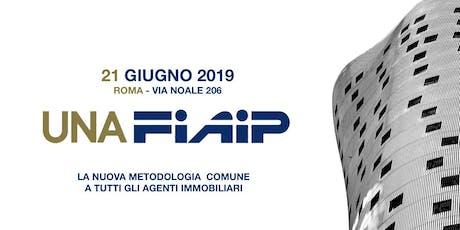 FIAIP ROMA CORSO UNAFIAIP - 21 GIUGNO - RISERVATO AGLI ASSOCIATI FIAIP biglietti