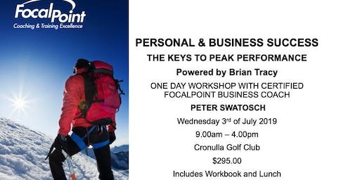 Personal and Business Success. The Keys to Peak Performance.