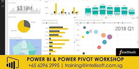 Power BI & Power Pivot Workshop on 16,17 Dec 2019 in Singapore.  tickets
