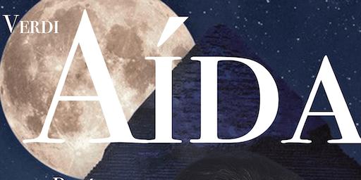 AIDA, G.Verdi en Santiago de  Compostela