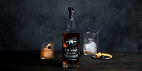Westward Whiskey tasting & 5-course dinner at Swank restaurant  tickets