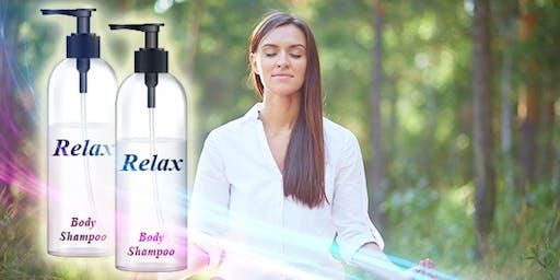 Making Relaxing Body Shampoo -BF1 Making Relaxing Shampoo