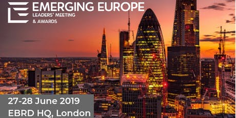 The Emerging Europe Leaders' Meeting & Awards tickets