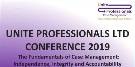 Unite Professionals Ltd Conference 2019 tickets