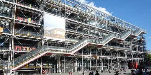 Iconic Buildings of the 20th Century Talk  - Centre Pompidou