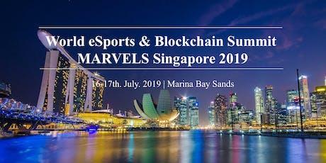 World eSports & Blockchain Summit MARVELS Singapore tickets