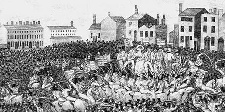 Peterloo perspectives: a tour divided tickets