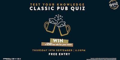 Classic Pub Quiz