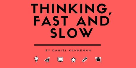 EBBC Amsterdam - Thinking Fast and Slow (D. Kahneman) tickets