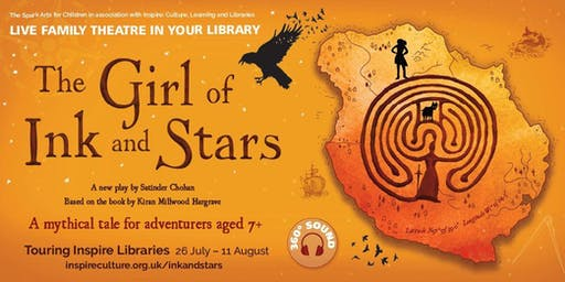 The Girl of Ink and Stars - Edwinstowe Library, 10.30am