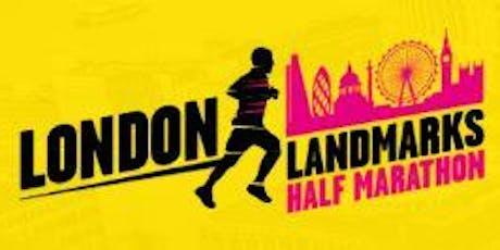 London Landmarks Half Marathon 2020 - Secure a place with RMA - The Royal Marines Charity  tickets
