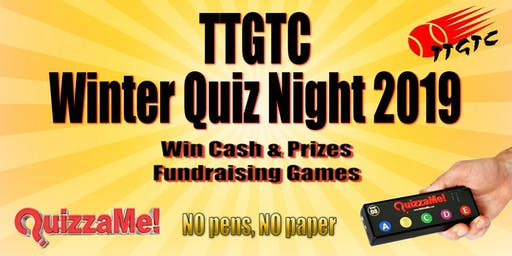 TTGTC Winter Quiz Night 2019
